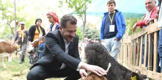 """Koronavirüs salgınıyla mücadele sürerken Balıkesir Büyükşehir Belediye Başkanı Yücel Yılmaz, tarımsal ve hayvansal desteklemelerini artırdı. Türkiye'yi doyuran il Balıkesir'in üretmeye devam etmesinin önemli olduğunu söyleyen Başkan Yücel Yılmaz üreticilere, """"Siz yeter ki üretin, biz size destek olmaya devam edeceğiz"""" diye seslendi. Balıkesir'in tarım sektörünün bütün alt dallarında yapılan üretim ile Türkiye'de söz sahibi bir konumda olduğunu söyleyen Başkan Yılmaz, """"Balıkesir'imizin bu başarısı üreticilerimizin gerek bitkisel gerekse hayvansal üretimde kaliteli ürün üretme gayreti içerisinde olmalarından kaynaklanıyor. Büyük bir özveri ile çalışan tüm üreticilerimize teşekkür ediyorum"""" dedi."""