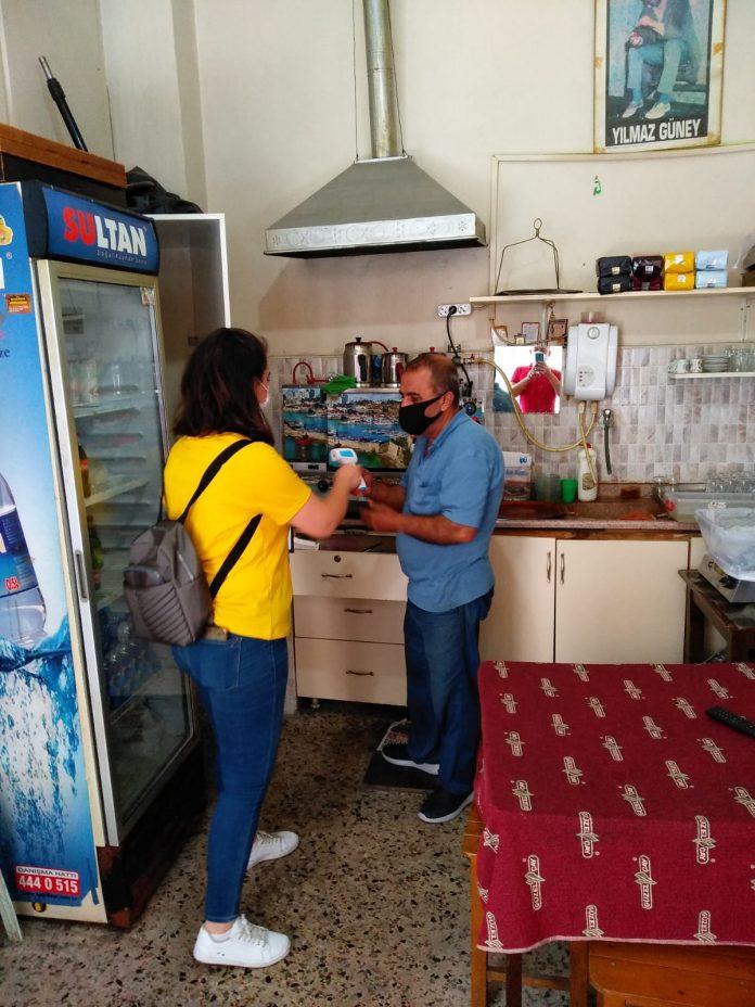 Karesi Belediyesi Zabıta Müdürlüğü ekipleri İçişleri Bakanlığı'nın Koronavirüs Tedbirleri Kapsamında Denetimler