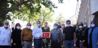 Son durağı vefalı yurt Kepsut olan AK Parti Balıkesir Milletvekili Dr. Mustafa Canbey hız kesmiyor