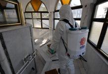 Karesi Belediyesi, korona virüs ile mücadele kapsamında ilçe genelinde dezenfekte çalışmalarına devam ediyor.